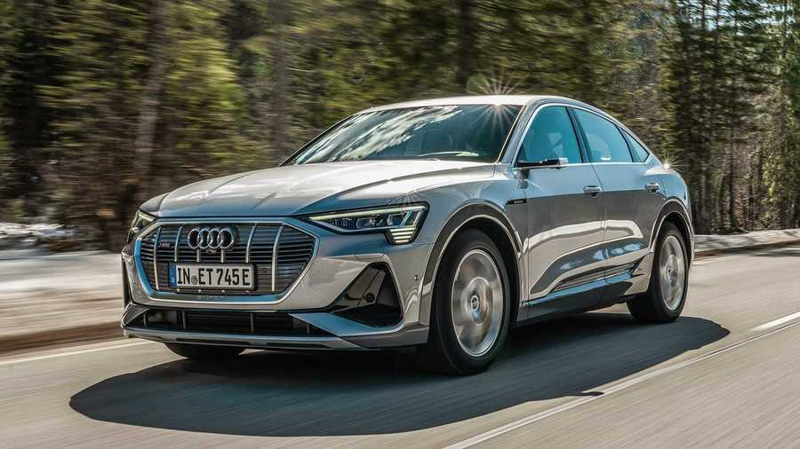 Our Favorite Audi e-tron Photo