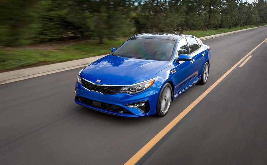KIA Optima Costs