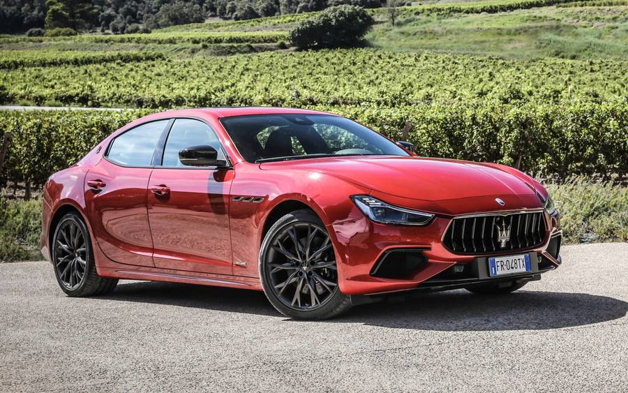 Our Favorite Maserati Ghibli Photo